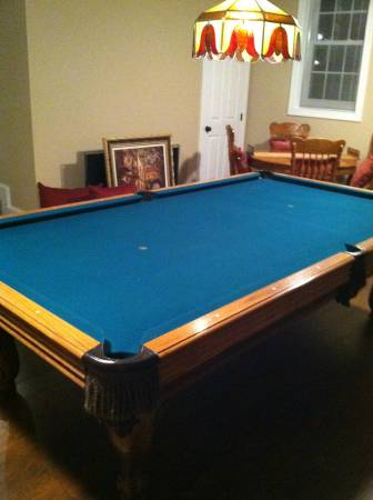 Solo 174 Richmond Pool Table Olhausen 9 Foot Professional
