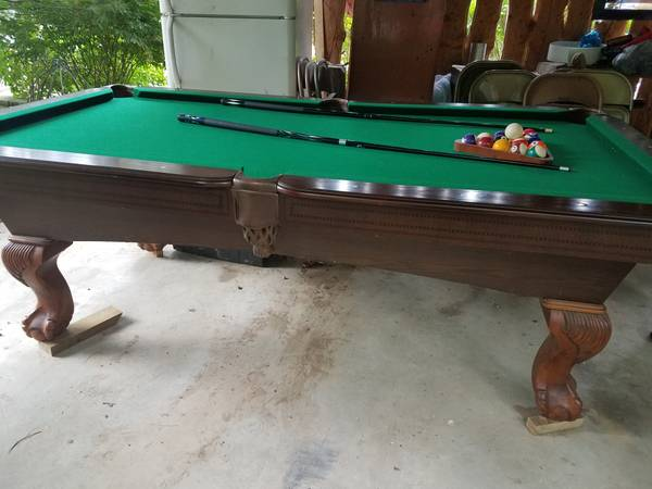 how to sell a pool table