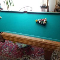 Olhausen 8ft Pool Table