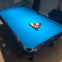 Olhausen 30th Anniversary 8 Ft Pool Table.