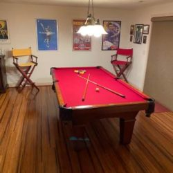 STD. 8Ft. Pool Table