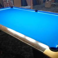 Refinished Gold Crown III Pool Table