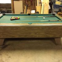 Vintage Pool Table For Sale