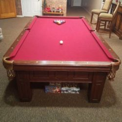 9' Proline Slate Pool Table