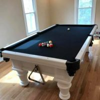Black & White Pool Table
