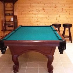 8' Solid Slate Table