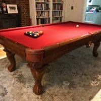 Legacy 8 ft Pool Table, Pub Table and Stools