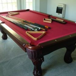 Spencer Marston Pool Table (SOLD)