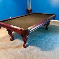 Mahogany Wood Pool Table