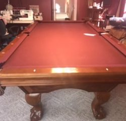 8' Brunswick Pool Table