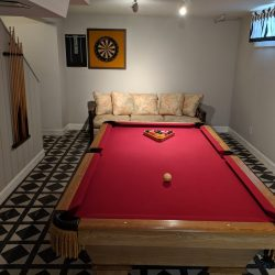 Connelly 7 foot slate pool table.